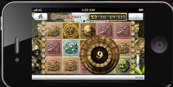 Gonzo's Quest Touch Slot