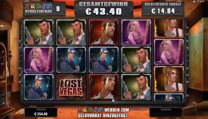 Spielautomat Lost Vegas