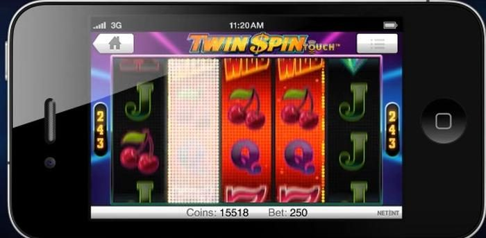 Twin Spin Touch NetEnt
