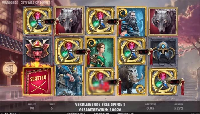 Spielautomat  Warlords